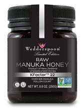 Wedderspoon Manuka-honung KFactor™22 250 g/Manuka-hunaja